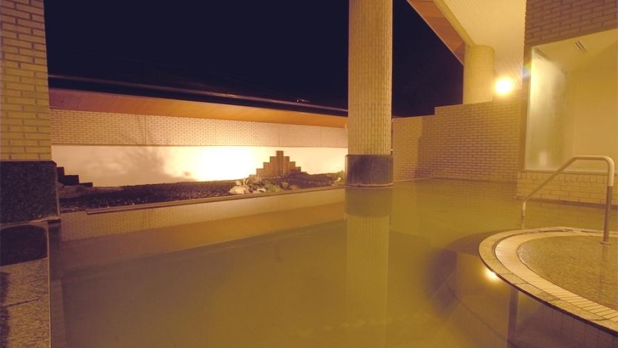 屈斜路プリンスホテル 大浴場露天風呂