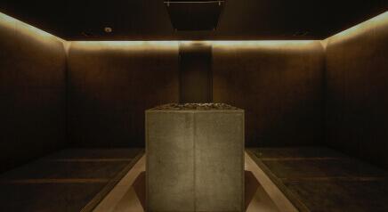 「THERMAL SPA S.WAVE 大磯プリンスホテル」岩盤浴室