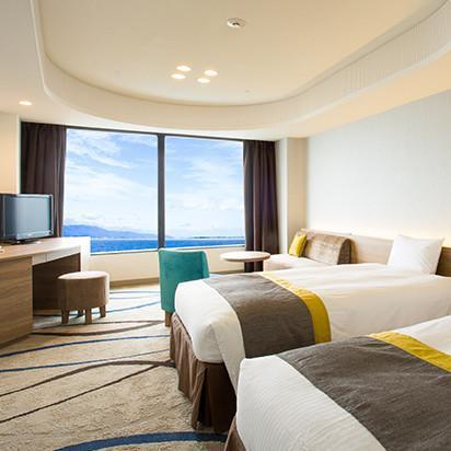 ホテル 琵琶湖 プリンス 琵琶湖を見下ろす眺めは素晴らしい