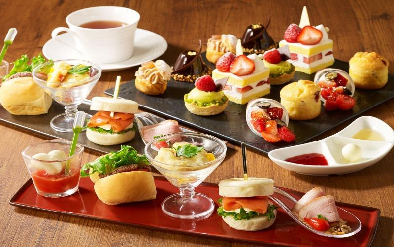 Tower View Afternoon tea Set